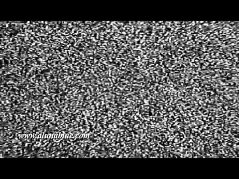 HD TV Noise - HD TV Static - Stock Video