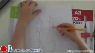 Come Disegnare Un Corpo Femminile Corso Manga