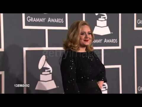 Adele at 54th Annual GRAMMY Awards - Arrivals on 2/12/12 in Los Angeles