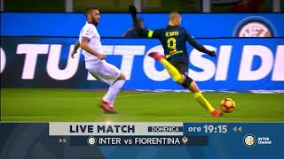 FOLLOW LIVE MATCH PRE INTER VS FIORENTINA