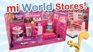 MiWorld Mini Store Build Mrs. Fields Cookie Shop