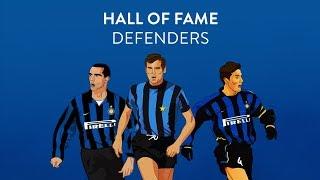 CLUB INTER | Facchetti, Bergomi and Zanetti - Hall of Fame 2018 Defenders