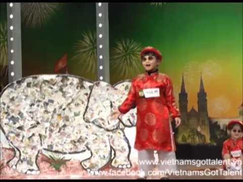 Tiết mục kịch Thầy Bói Xem Voi của các bé - Vietnam's Got Talent