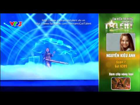 Vietnam's Got Talent 2012 - Bán Kết 6 - Nguyễn Kiều Anh - MS: 7