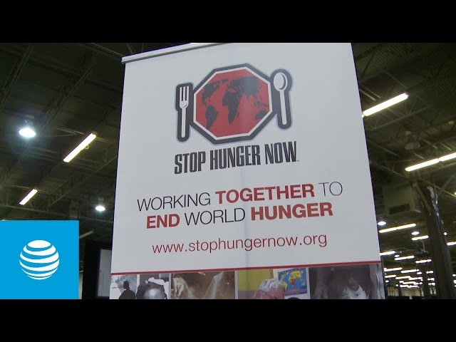 AT&T Employees Break Records for Stop Hunger Now