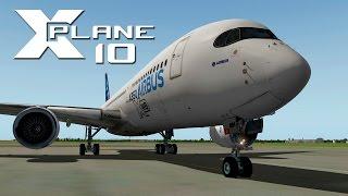 Vuelo simulado en X Plane