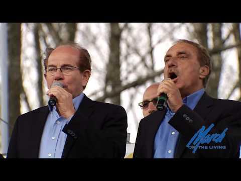 Hatikvah - 2015 March of the Living Ceremony, Auschwitz-Birkenau