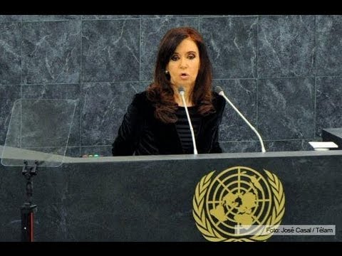 68ª United Nations General Assembly: Words of President Cristina Fernández