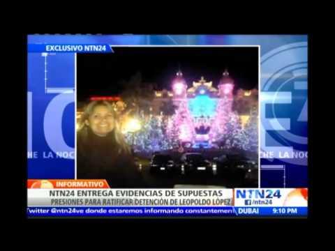 Ciudadana venezolana denuncia en NTN24 que jueza del caso Leopoldo López recibió presión