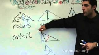 Geometry - Relationships in Triangles