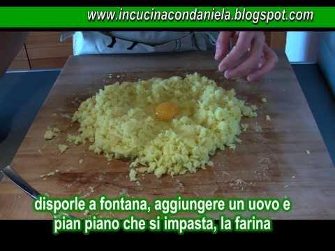 Video ricetta facile: come fare gli Gnocchi di patate al sugo facili facili!