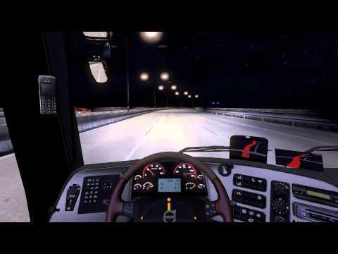 euro truck simulator 2 volvo 9700 bus gameplay