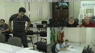 Licitações - Pregão nº008/2017 - 08/03/2017 - SAMAE