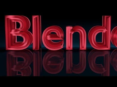 tutorial: Blender Tutorial For Beginners: 3D text