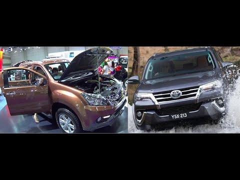 Video review New SUV Isuzu MU-X 2016 VS New SUV Toyota Fortuner 2016
