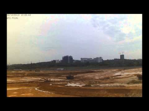 Time Lapse Cyberjaya Mosque - 21st May - 27th August 2013