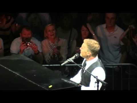 Gary Barlow @The Hydro Glasgow 02-04-14