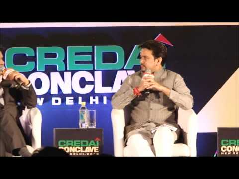 CREDAI Conclave 2013 Full Session - Reality behind Urbanization Dream of young India