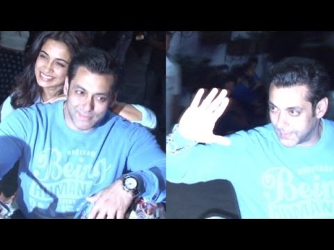 Salman Khan At Screening Of Film O Teri