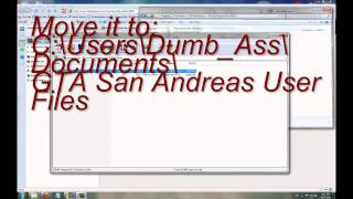 How To Get 100% GTA San Andreas Save Files To Work On