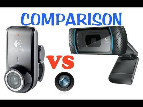 Logitech C910 vs Apple iSight vs QuickCam Pro