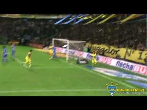 Gol de Juan Manuel Insaurralde /Boca 3 - Godoy Cruz 0 /Clausura 2012