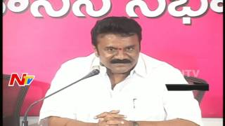 Talasani questions Chandrababu on migrations