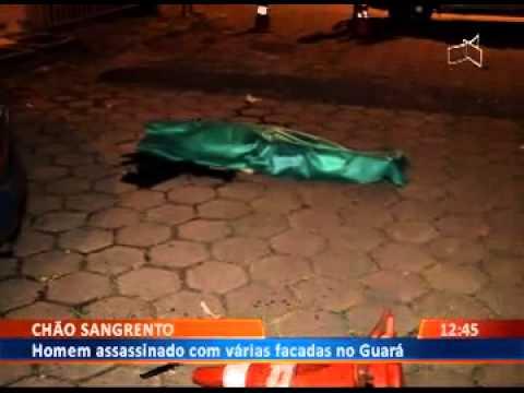 DF Alerta - Homem assassinado com varias facadas no guará.26/01/15