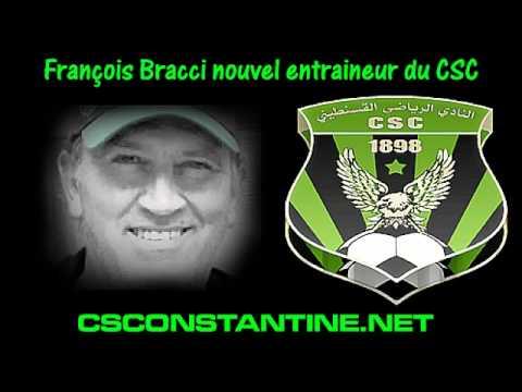 Déclaration de François Bracci, nouvel entraineur du CSC