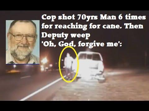 Dashcam: Cop Shot 70-year-old Man For Picking Up Cane During Traffic Stop