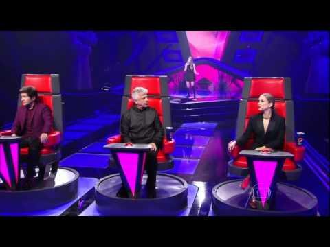The Voice Brasil - Nonô Lellis encanta técnicos na Audição