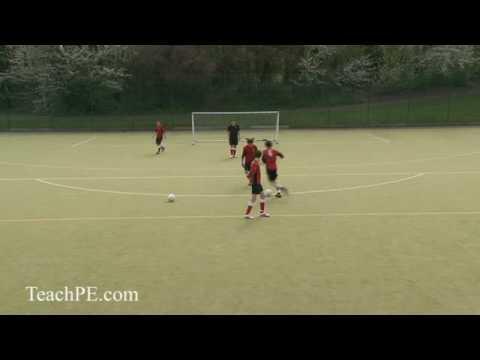 Soccer Drills - Dribbling 13