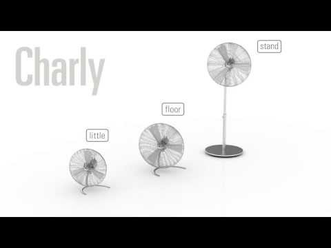 Stadler Form 'Charly' Designer Stand Fan