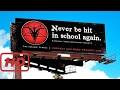 Satanic Temple Launches anti Spanking Campaign in Texas Billboard Destroyed NIH