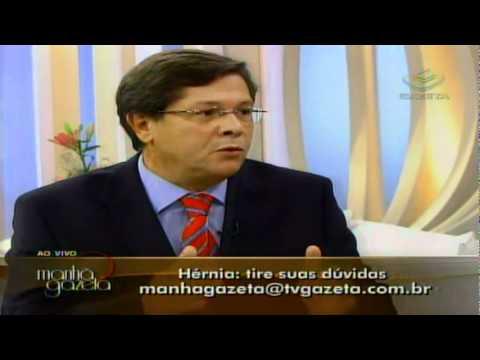Entrevista Dr. Paulo Carvalho na TV Gazeta sobre Hérnias