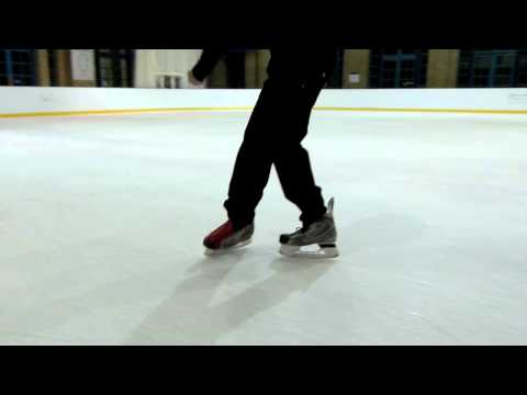 Learn How To Do The Grapevine Freestyle Ice Skating Footwork Trick In Detail Video Tutorial