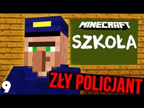POSZLIŚMY NA POLICJĘ! - Minecraft Szkoła #9