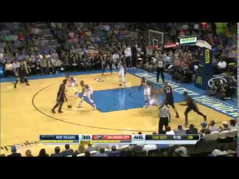 Pelicans at Thunder April 11, 2014 - 1st Half Highlights - NBA 13-14 HD - Subscribe