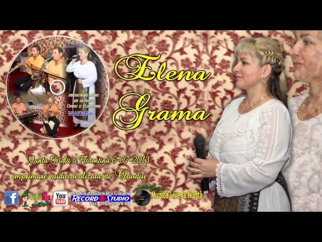 Elena Grama - Vino nana sus la munte LIVE AUDIO Claudiu Record Studio