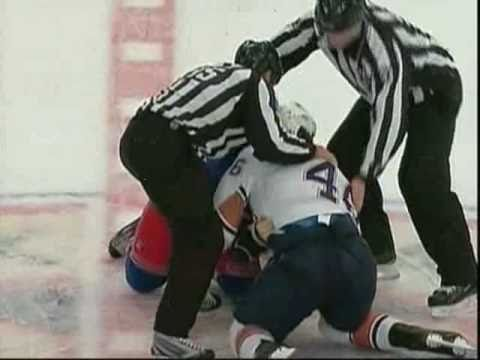 New York Rangers vs Edmonton Oilers Brawl [Full incident]