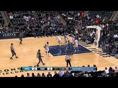 Dwight Howard dunk over Roy Hibbert 1-26-11