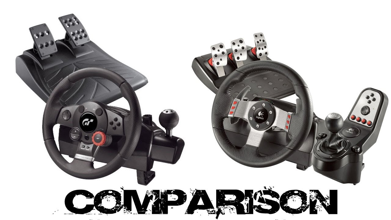 logitech driving force gt vs logitech g27 comparison. Black Bedroom Furniture Sets. Home Design Ideas