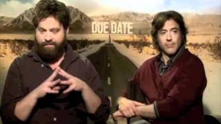Zach Galifianakis + Robert Downey Jr = Chemistry