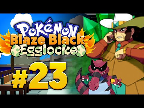 Let's Play Pokémon Blaze Black Egglocke - Part 23: Zu früh gefreut!
