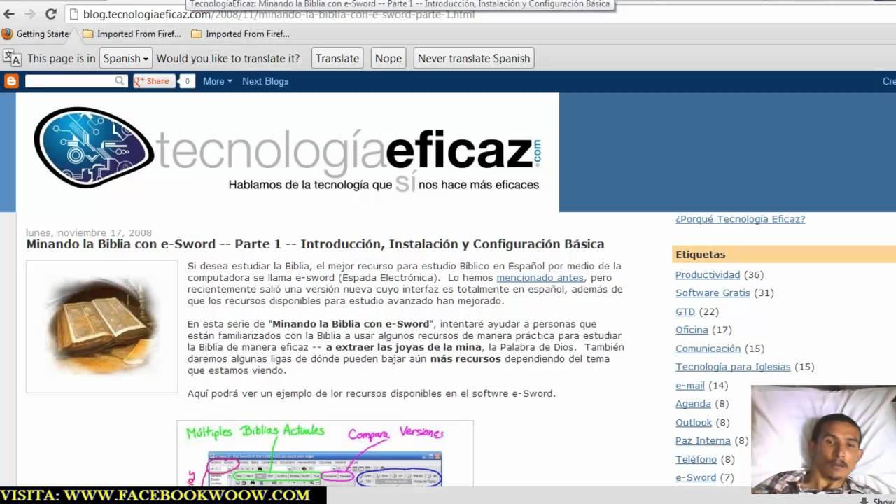 descargar e-sword 2012 en espanol