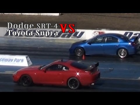 Dodge SRT4 vs Toyota Supra