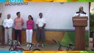 Gestiona Ramón Guerrero 40 millones de pesos para ciclovías en Puerto Vallarta
