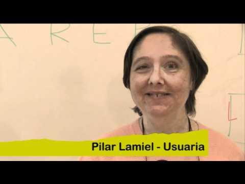 Pilar Lamiel, usuària d'Arep