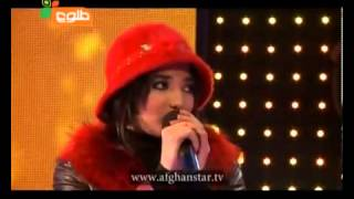 Afghan Star Season 8 Episode.19 Top 7-Latifa Azizi