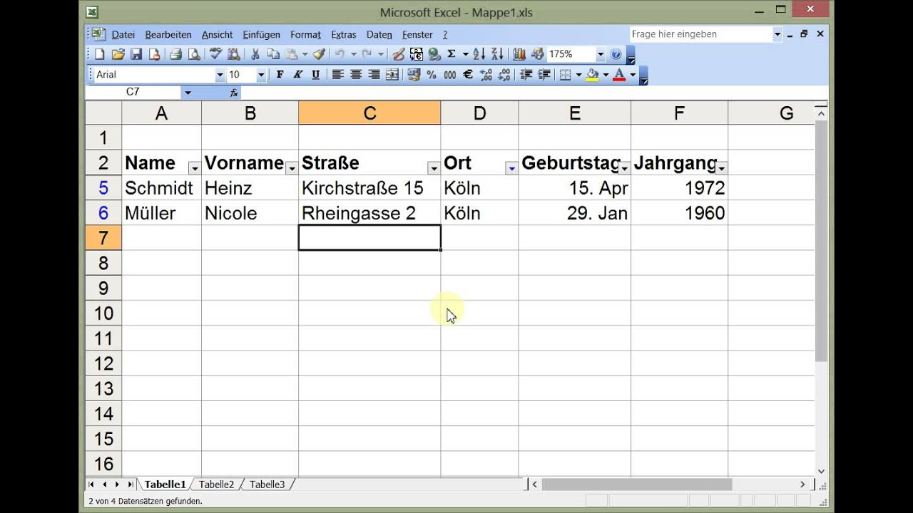 how to add an autofilter to excel